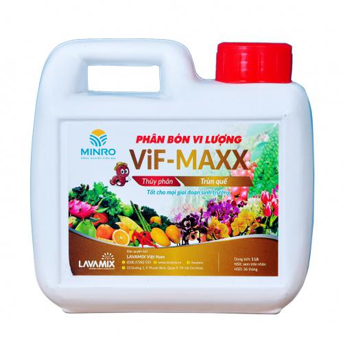 Trùn quế Minro (Vif-Maxx) 1 lít