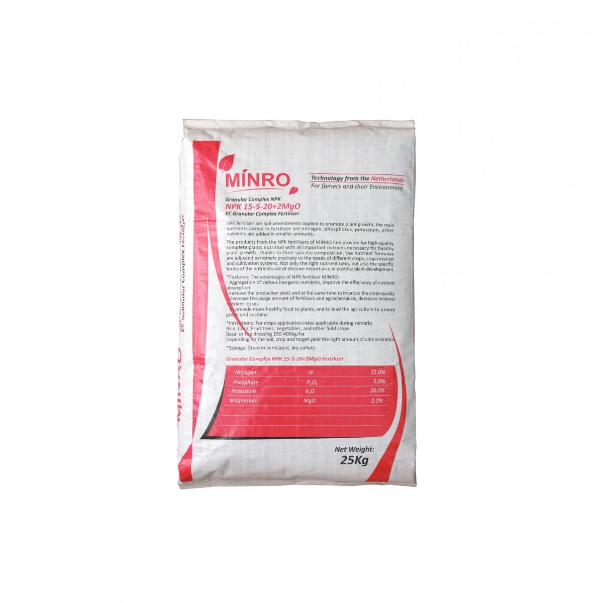 NPK 15-5-20 (25kg)